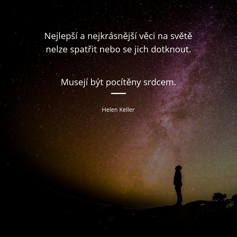 citaty Helen Keller citát #2834 (179 citátů, strana 9) | Citáty slavných  citaty