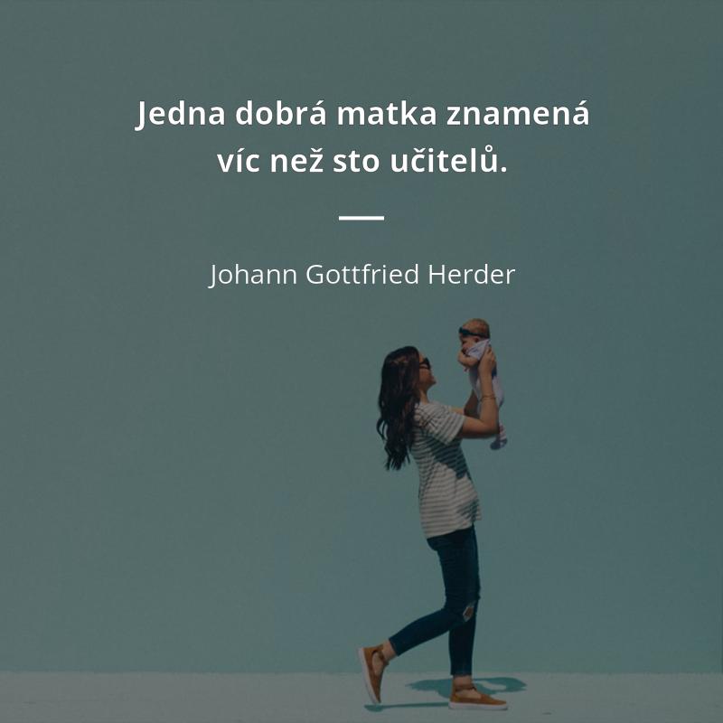 citáty o svobodných maminkách